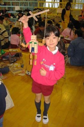 【第1回 木でつくってみよう!】 in さぎぬま幼稚園