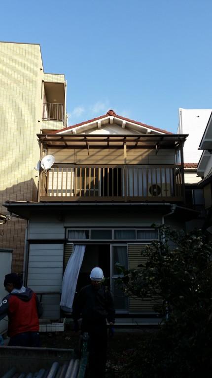 M邸の解体工事開始