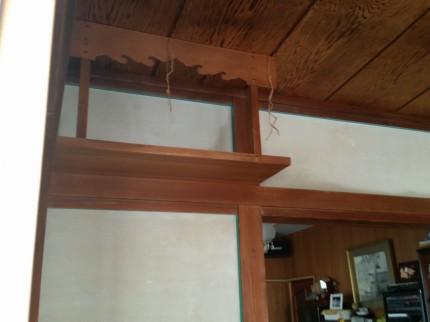 T邸和室壁塗替え1