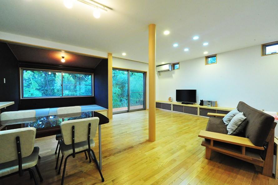 「緑と和の広い家」 部屋
