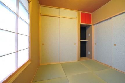 「緑と和の広い家」和室