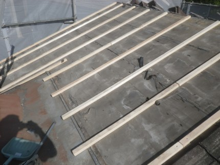 o邸耐震工事 屋根2