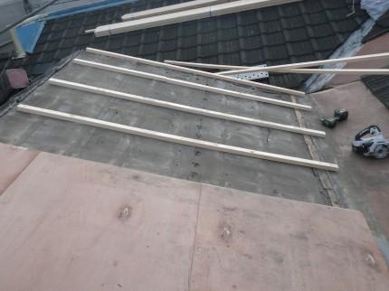 o邸耐震工事屋根3