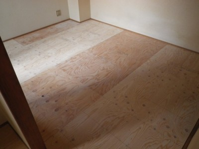 床下地合板