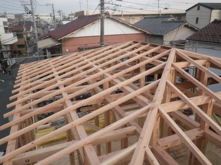屋根垂木・母屋