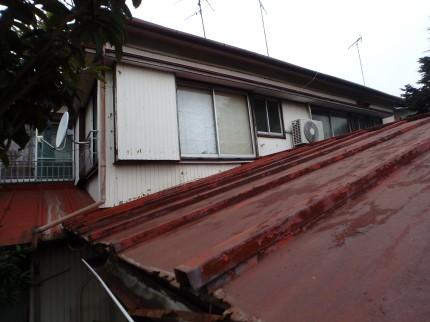 W邸屋根の現調2