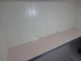 施工後 造作棚作成