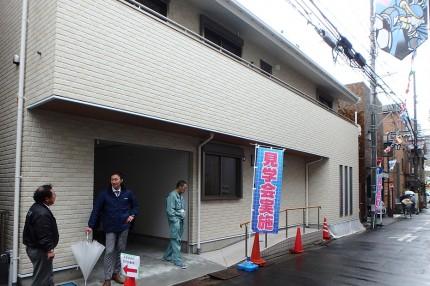 完成見学会 【バリアフリーの家】ベランダ