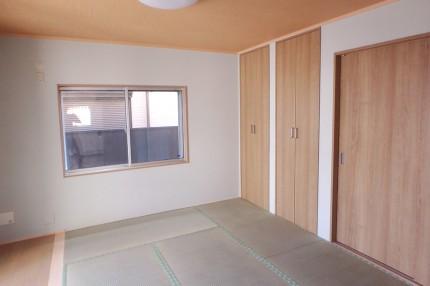 完成見学会 【2人で再出発の家】寝室