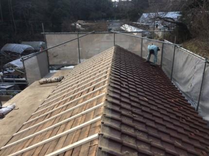屋根垂木(胴縁)②
