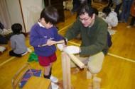 【第2回 木でつくってみよう!】 in さぎぬま幼稚園